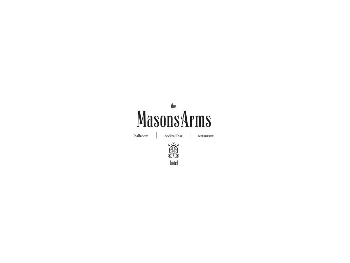 The Masons Arms logo